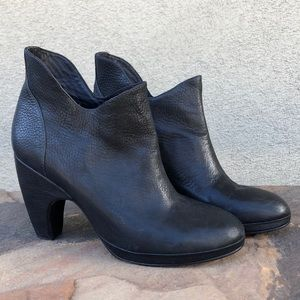 Rachel Comey black leather ankle boots